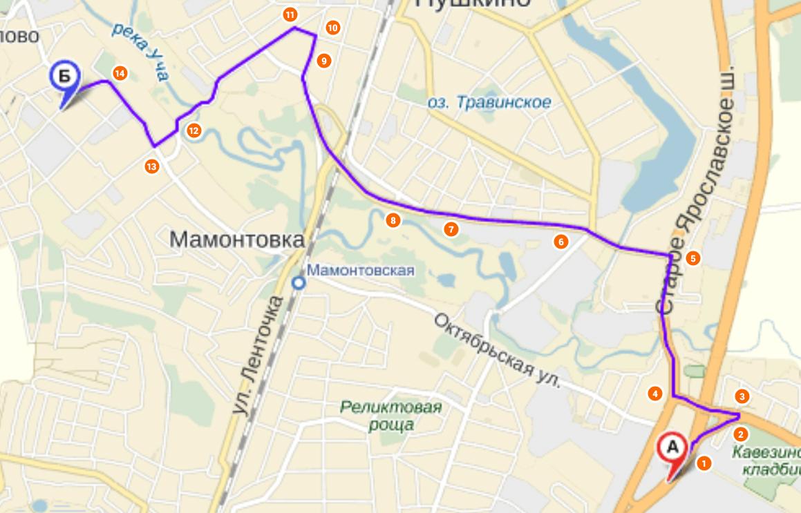 Схема проезда ярославское шоссе фото 717